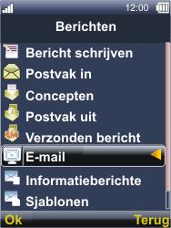 Sonim XP3300 Force - E-mail - E-mails verzenden - Stap 4