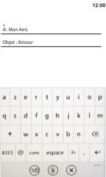 HTC 7 Trophy - E-mail - envoyer un e-mail - Étape 7