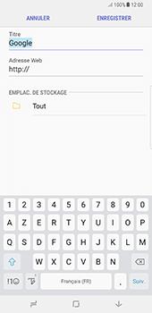 Samsung Galaxy Note 8 - Internet - Navigation sur Internet - Étape 9