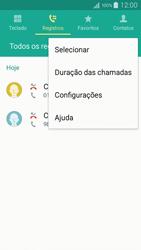 Samsung Galaxy A5 - Chamadas - Como bloquear chamadas de um número específico - Etapa 6