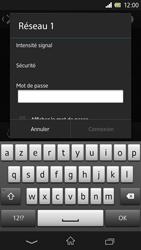 Sony Xpéria Z - Internet et connexion - Accéder au réseau Wi-Fi - Étape 7