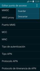 Samsung G850F Galaxy Alpha - Mensajería - Configurar el equipo para mensajes multimedia - Paso 15