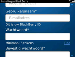 BlackBerry 9320 Curve - BlackBerry activeren - BlackBerry ID activeren - Stap 9