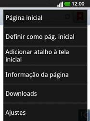 LG E400 - Internet no telemóvel - Como configurar ligação à internet -  22