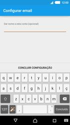 Sony Xperia M4 Aqua - Email - Como configurar seu celular para receber e enviar e-mails - Etapa 10
