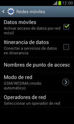 Samsung S7560 Galaxy Trend - Red - Seleccionar el tipo de red - Paso 6