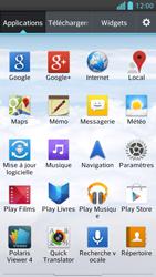 LG Optimus F5 - Contact, Appels, SMS/MMS - Envoyer un SMS - Étape 3