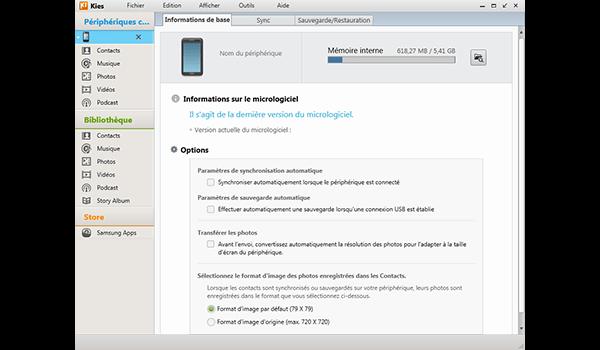 Samsung Galaxy A8 - Aller plus loin - Gérer vos données avec un ordinateur - Étape 4