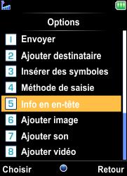 Bouygues Telecom Bc 101 - Contact, Appels, SMS/MMS - Envoyer un MMS - Étape 11