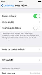 Apple iPhone 5s iOS 9 - Internet no telemóvel - Como ativar os dados móveis -  5