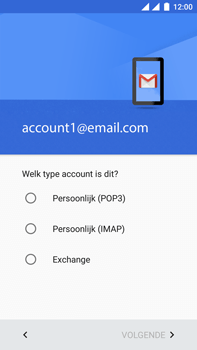 OnePlus 3 - E-mail - Handmatig instellen - Stap 11