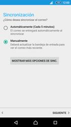 Sony Xperia Z5 Compact - E-mail - Configurar correo electrónico - Paso 20
