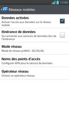 LG Optimus F5 - Internet et connexion - Activer la 4G - Étape 8