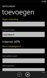 Nokia Lumia 820 LTE - Internet - handmatig instellen - Stap 12