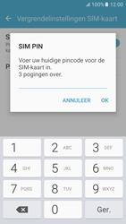 Samsung Galaxy S6 - Android M - Beveiliging en ouderlijk toezicht - Hoe wijzig ik mijn SIM PIN-code - Stap 8