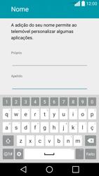 LG C70 / SPIRIT - Primeiros passos - Como ligar o telemóvel pela primeira vez -  10