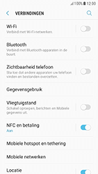 Samsung Galaxy A5 (2017) - Android Nougat - Buitenland - Internet in het buitenland - Stap 6