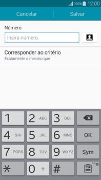 Samsung N910F Galaxy Note 4 - Chamadas - Como bloquear chamadas de um número específico - Etapa 11