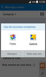 Samsung Galaxy Core Prime - Mensajería - Escribir y enviar un mensaje multimedia - Paso 15