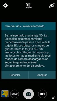 Samsung N910F Galaxy Note 4 - Funciones básicas - Uso de la camára - Paso 4