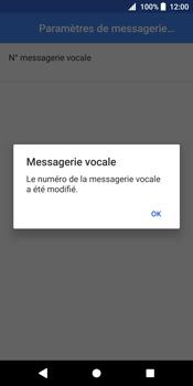 Sony Xperia XZ2 - Messagerie vocale - configuration manuelle - Étape 12