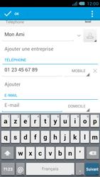 Bouygues Telecom Bs 471 - Contact, Appels, SMS/MMS - Ajouter un contact - Étape 11