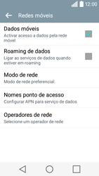 LG Y50 / LEON - Internet no telemóvel - Como configurar ligação à internet -  6
