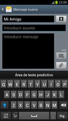 Samsung I9300 Galaxy S III - Mensajería - Escribir y enviar un mensaje multimedia - Paso 10