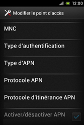 Sony ST23i Xperia Miro - Internet - configuration manuelle - Étape 16