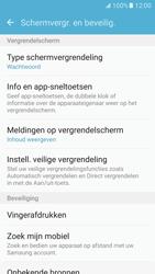 Samsung Galaxy S7 - Beveiliging en ouderlijk toezicht - Toegangscode aanpassen - Stap 5