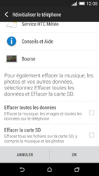 HTC Desire 820 - Aller plus loin - Restaurer les paramètres d'usines - Étape 6