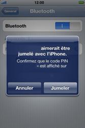 Apple iPhone 4 - Bluetooth - Jumeler avec un appareil - Étape 7