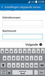 Samsung J100H Galaxy J1 - E-mail - handmatig instellen - Stap 15