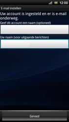 Sony Ericsson Xperia Neo V - E-mail - e-mail instellen: POP3 - Stap 14