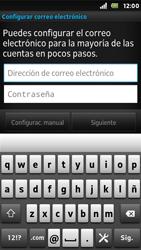 Sony Xperia U - E-mail - Configurar correo electrónico - Paso 5