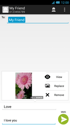 Acer Liquid S2 - Mms - Sending a picture message - Step 16