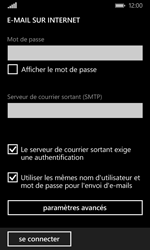 Microsoft Lumia 532 - E-mail - Configuration manuelle - Étape 15