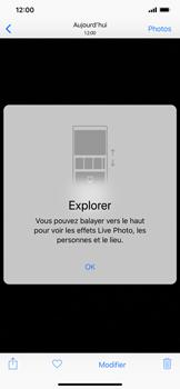 Apple iPhone XS Max - Photos, vidéos, musique - Créer une vidéo - Étape 11