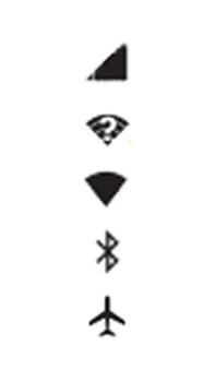 Motorola Moto X Play - Funções básicas - Explicação dos ícones - Etapa 2