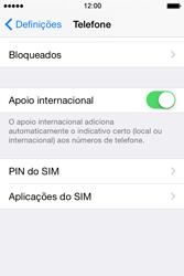 Apple iPhone 4S iOS 8 - Chamadas - Como bloquear chamadas de um número -  4