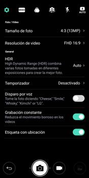 LG Q6 - Funciones básicas - Uso de la camára - Paso 7