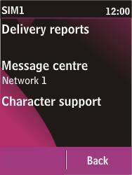 Nokia C2-03 - SMS - Manual configuration - Step 7