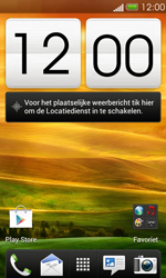 HTC T320e One V - Internet - Hoe te internetten - Stap 1