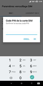 Alcatel 3L - Sécuriser votre mobile - Personnaliser le code PIN de votre carte SIM - Étape 9