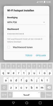 LG V30 (LG-H930) - WiFi - Mobiele hotspot instellen - Stap 8