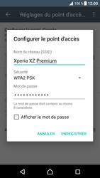 Sony Xperia XZ Premium - Internet et connexion - Partager votre connexion en Wi-Fi - Étape 8