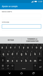 HTC One Mini 2 - E-mail - Configurer l