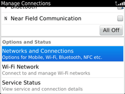 BlackBerry 9900 Bold Touch - Internet - Usage across the border - Step 4