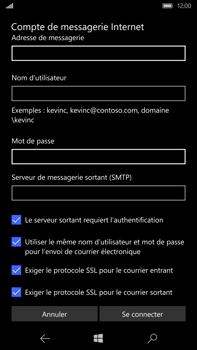 Microsoft Lumia 950 XL - E-mail - Configuration manuelle - Étape 14