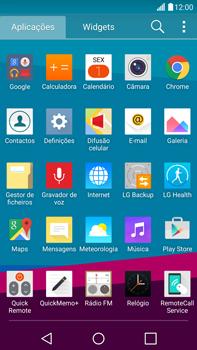 LG G4 - Email - Configurar a conta de Email -  4